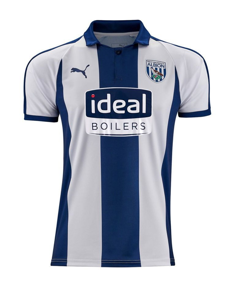 982207c8d West Bromwich Albion Puma Home Kit 2018-19