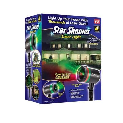 star shower laser light projector as seen on tv 9400 6 the home depot - Home Depot Outdoor Christmas Lights