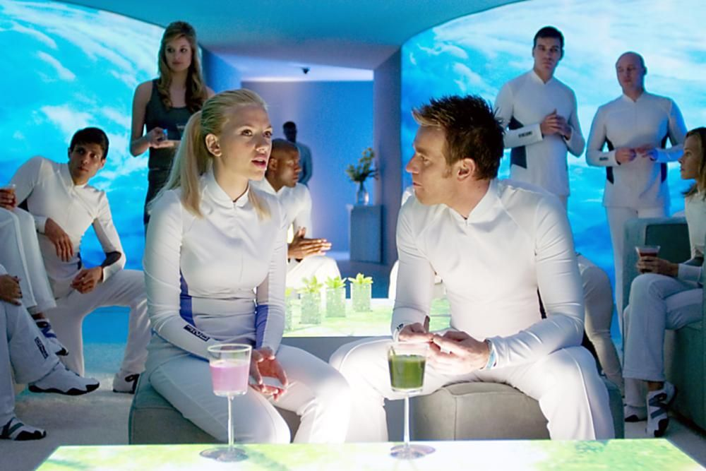 THE ISLAND, Scarlett Johansson, Ewan McGregor, 2005   Essential Film Stars, Ewan McGregor http://gay-themed-films.com/film-stars-ewan-mcgregor/