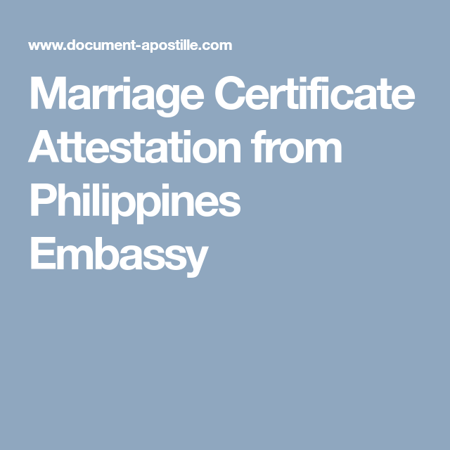 Marriage certificate attestation from philippines embassy marriage certificate attestation from philippines embassy altavistaventures Images