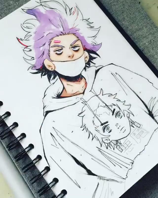 Photo of Vibrant Character Art