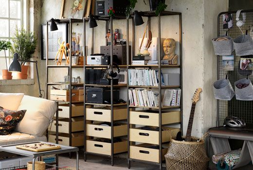 style industriel ikea. Black Bedroom Furniture Sets. Home Design Ideas