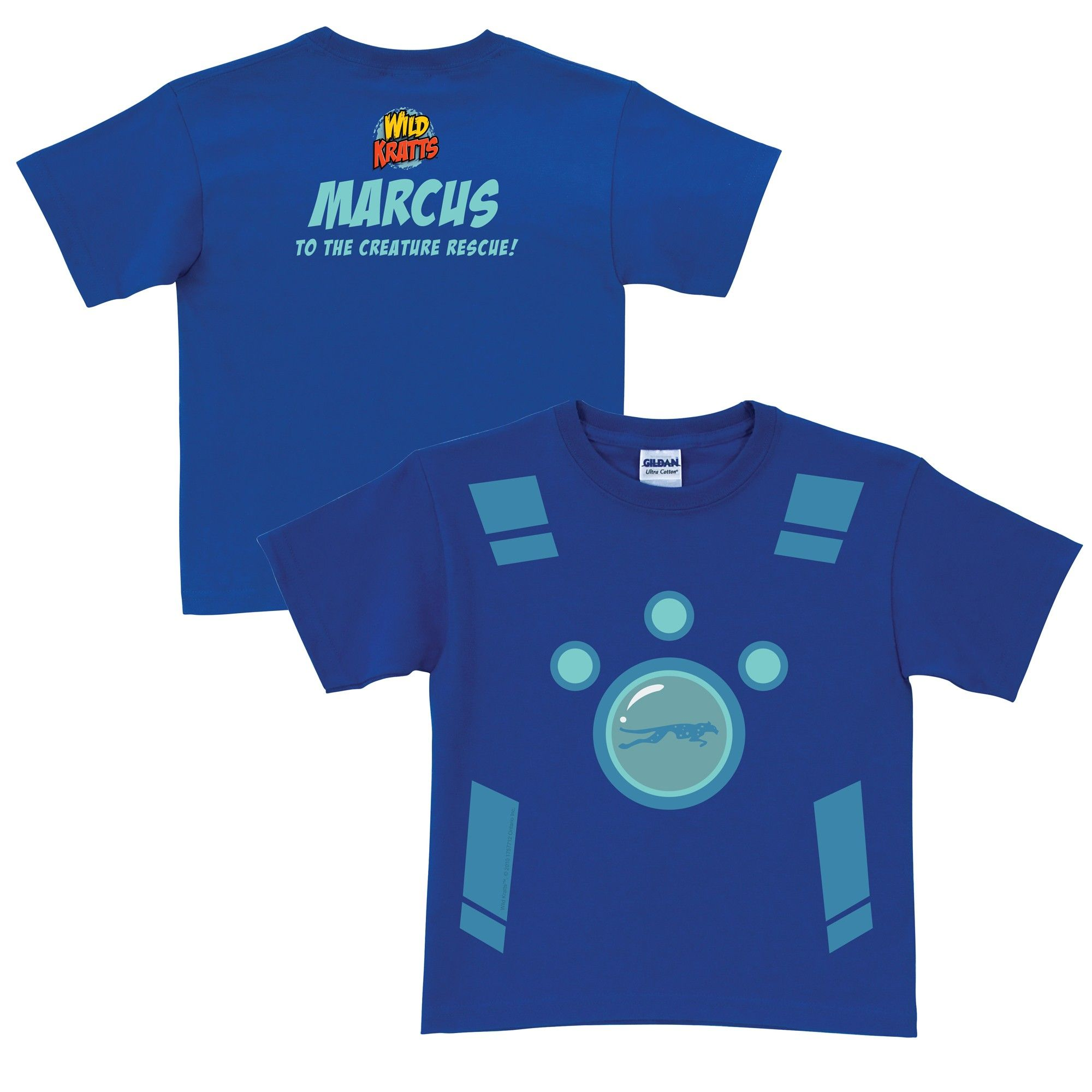 Wild Kratts Creature Power Suit Royal Blue T-Shirt from PBS Kids Shop. This is Masons fav show!!