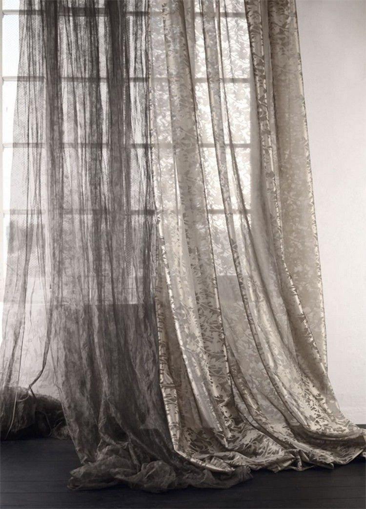 Erkunde Wohnzimmer Loft Stil Und Noch Mehr Transparente Barock Gardinen