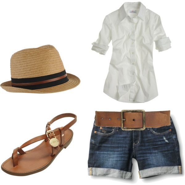 summer, created by merara on Polyvore