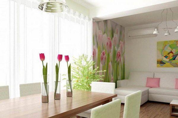Schöne Wandgestaltung mit neuen Tapeten Trends 2018 Interior - farbe wohnzimmer ideen