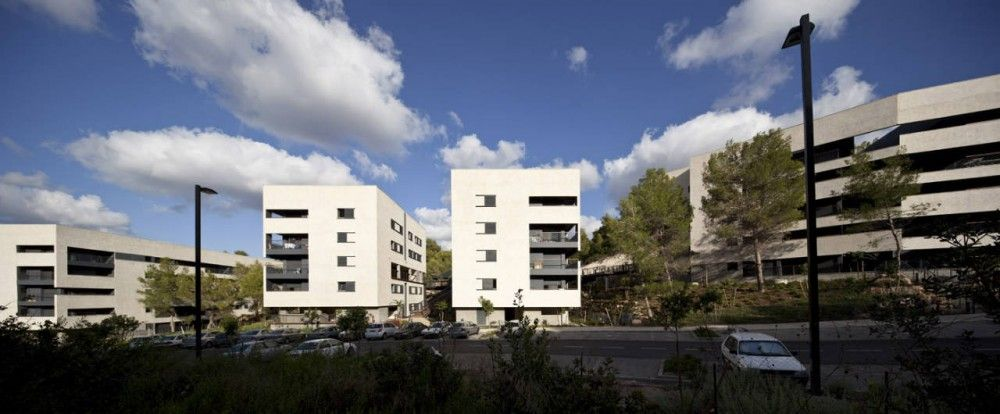 Zielony Graduate Student Village / Bar Orian Architects   Schwartz Besnosoff Architects