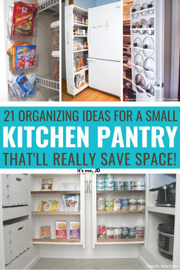 21 Small Kitchen Pantry Organization Ideas To Really Save Space Small Kitchen Pantry Small Pantry Organization Kitchen Organization Pantry