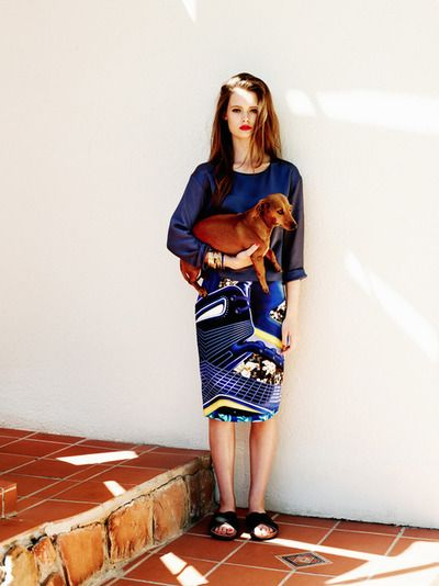 Outfit con perrito
