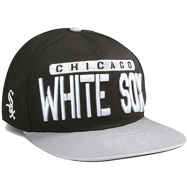 the best attitude 6b9fe b3d73 ... discount mens chicago white sox new era black gray sa sweeter 9fifty  adjustable hat cba6d 6776d
