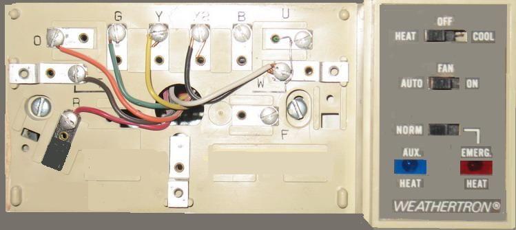 Heat Pump Thermostat Wiring Image Hvac Maintenance House Wiring Heat Pump