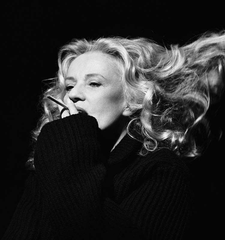 Jeanne Moreau, New York, New York 1996 © Brigitte Lacombe