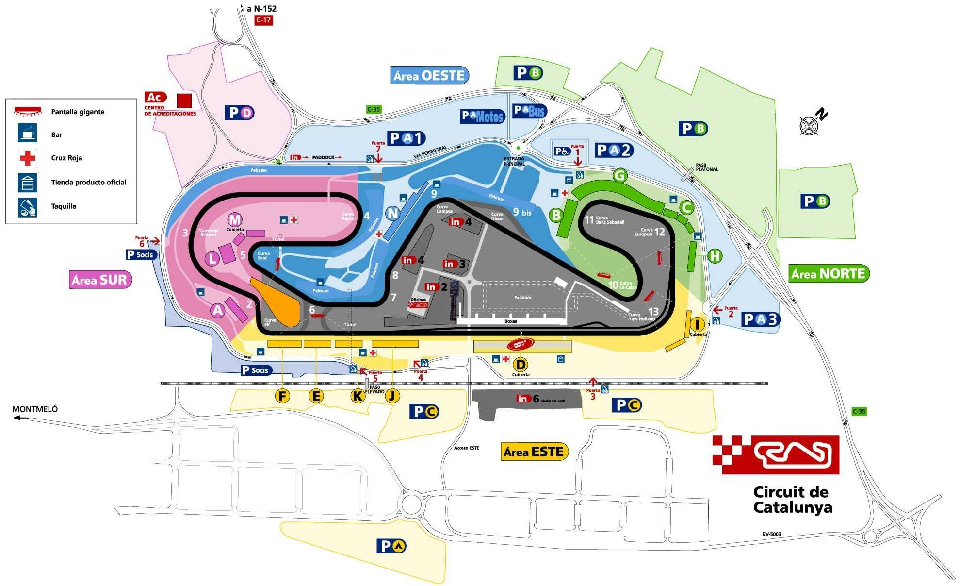 Circuito Montmelo : Circuito montmelo buscar con google beautiful tracks