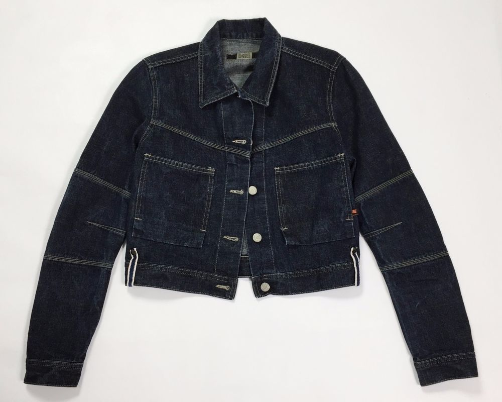 Elisa the new concept of jeans jacket M denim giacca usato