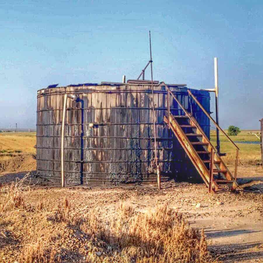 Wooden Tanks, Guess Where? Oilfield, Pics