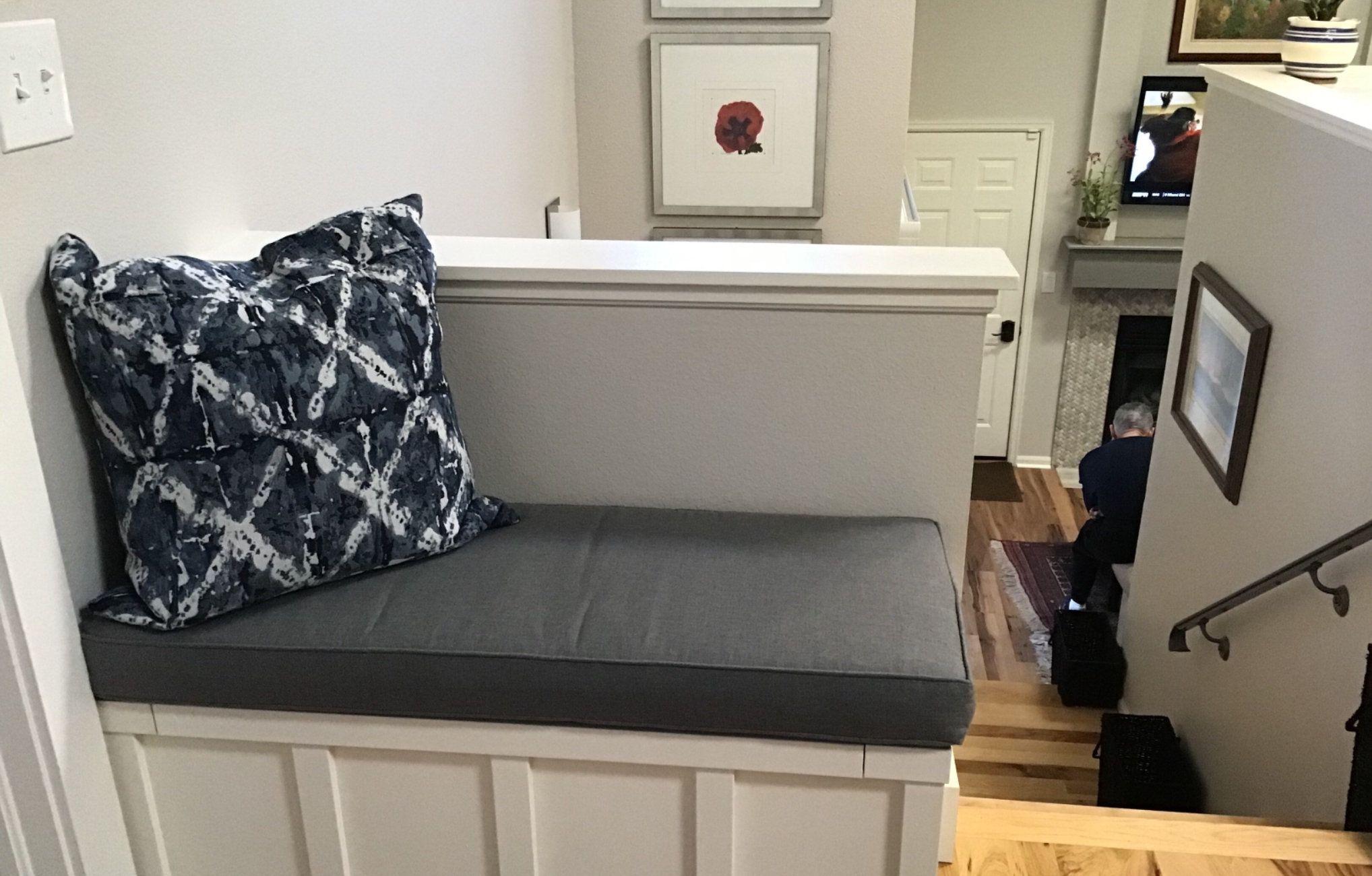 Mudroom Bench Cushion Window Seat Cushion In Custom Fabric In 2019