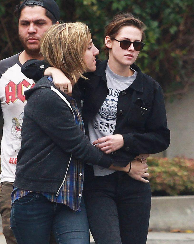 Кристен стюарт и алисия каргал целуются фото