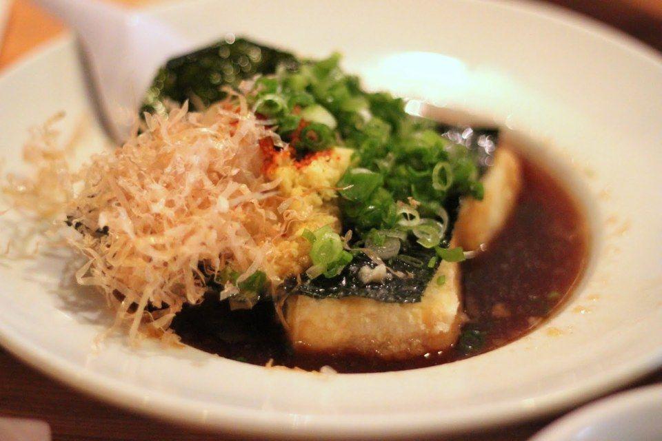 Agedashi Tofu at Himawari - photo by Chevsky.com