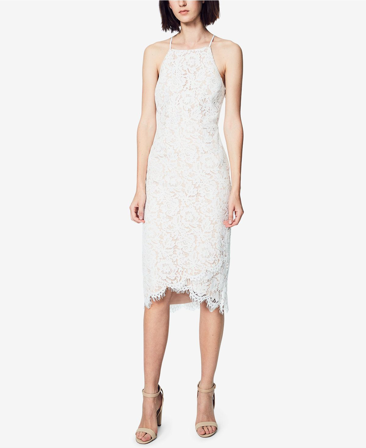 Fame and partners corded lace apron dress dresses women macyus
