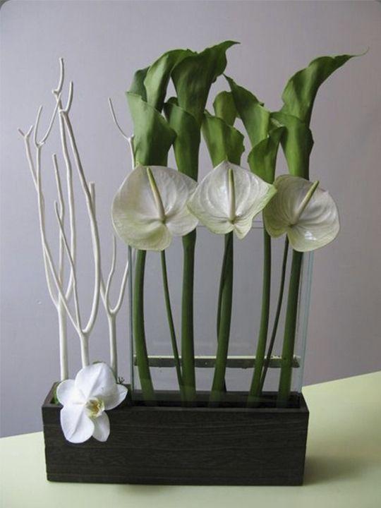Arreglo floral para Decoración empresarial | flores | Pinterest ...