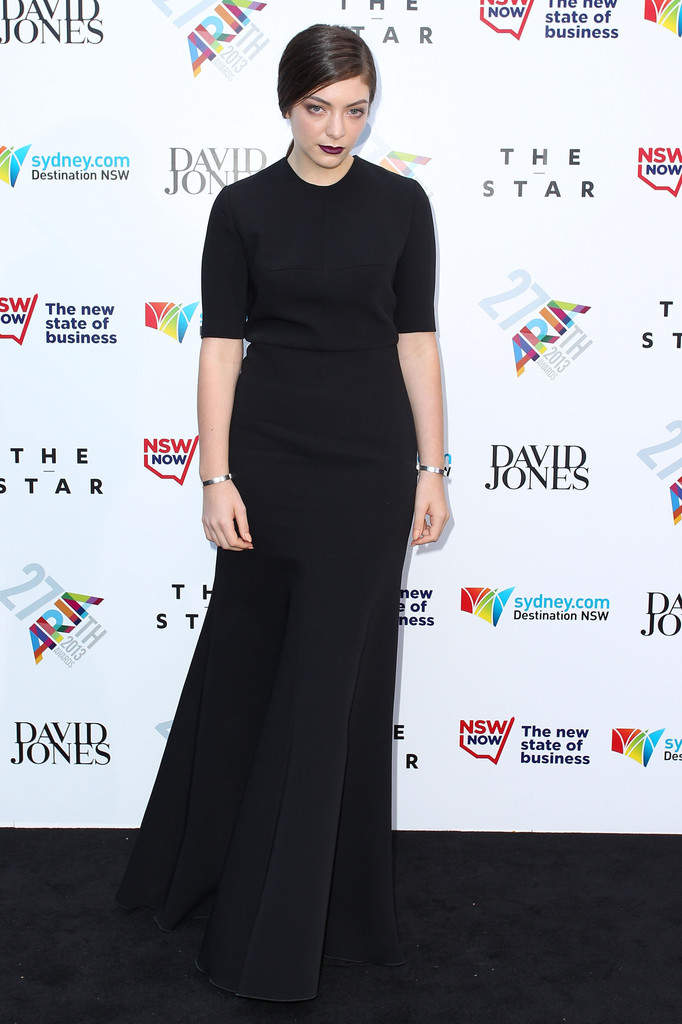 12/1/13 - Lorde at the 2013 ARIA Awards in Sydney ...