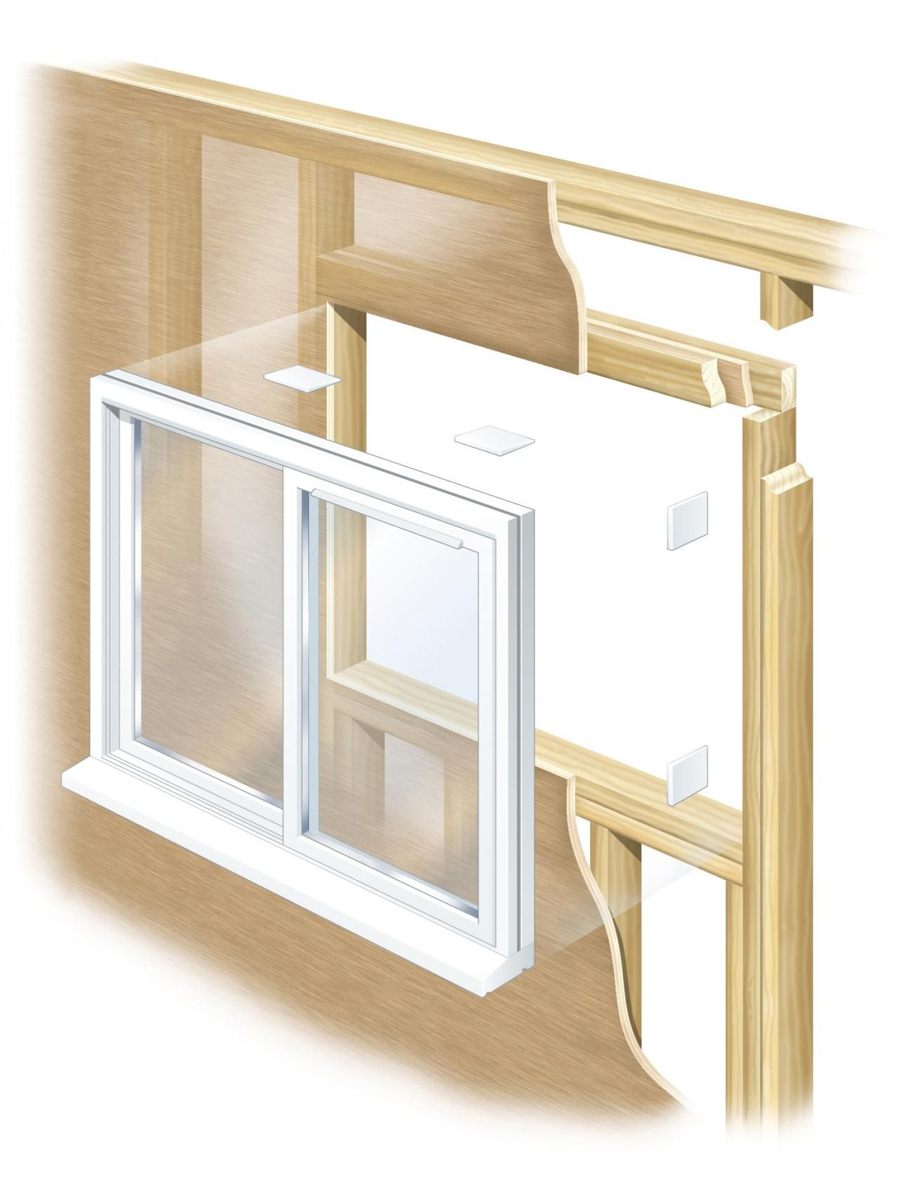 How to Remove an Old Window and Frame a New One Home