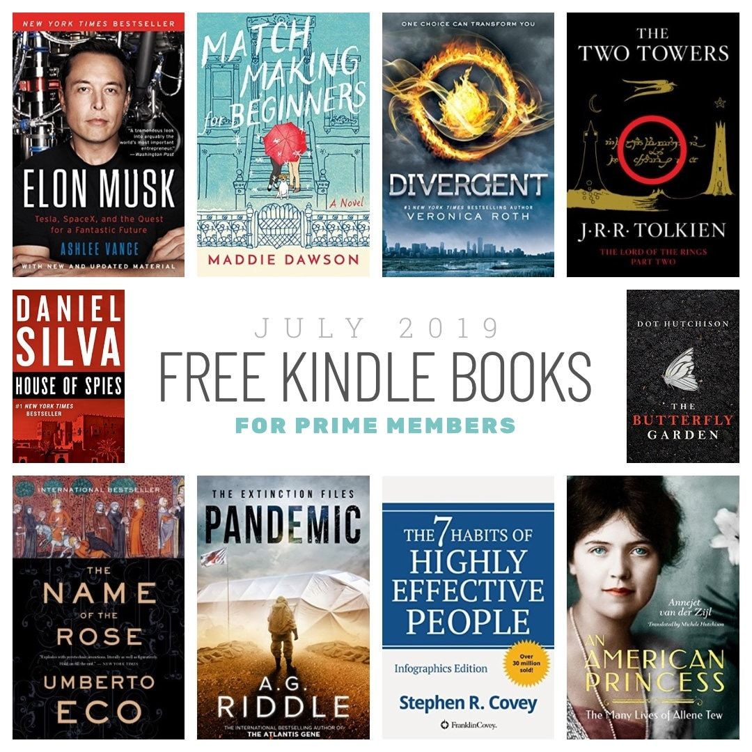 10 Best New Kindle Books Prime Members Can Read For Free Amazon Kindle Books Free Amazon Books Kindle Books