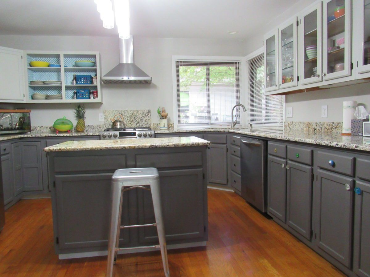 Paint your kitchen without sanding and priming