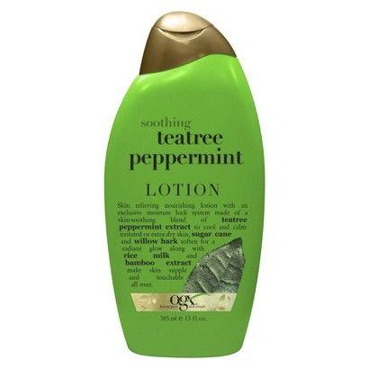 OGX TeaTree Peppermint Body Lotion - 13 oz