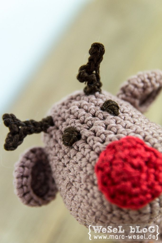 Häkelanleitung Gehäkelter Elch Elvis Crochet Love Pinterest