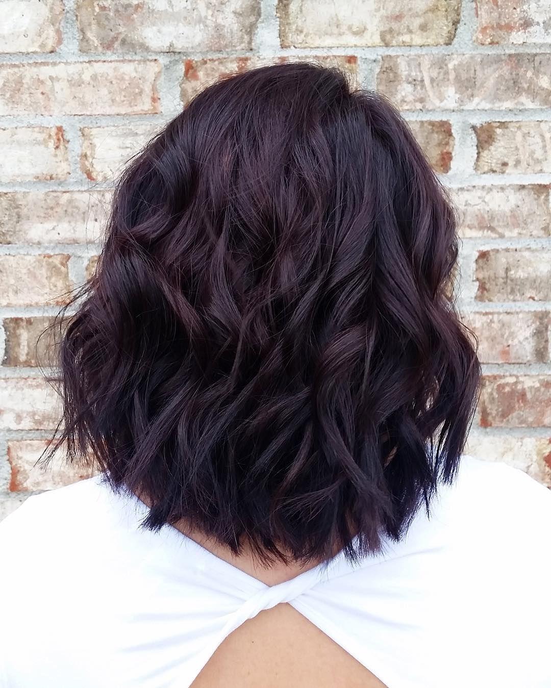 Aveda color purple hair canvas salon and skin bar hair and