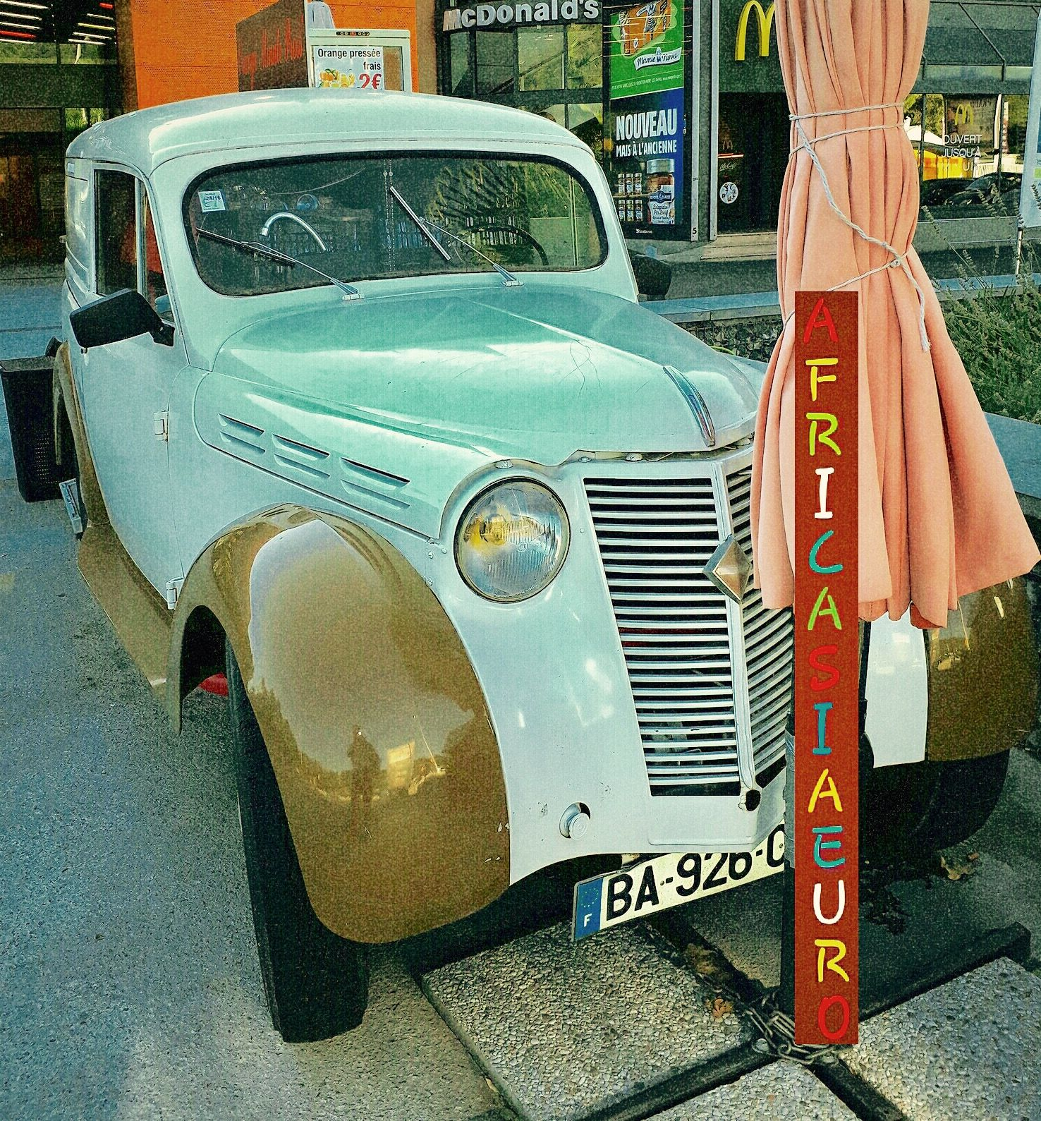 Citroen 56 Nice South of France Lingostiere