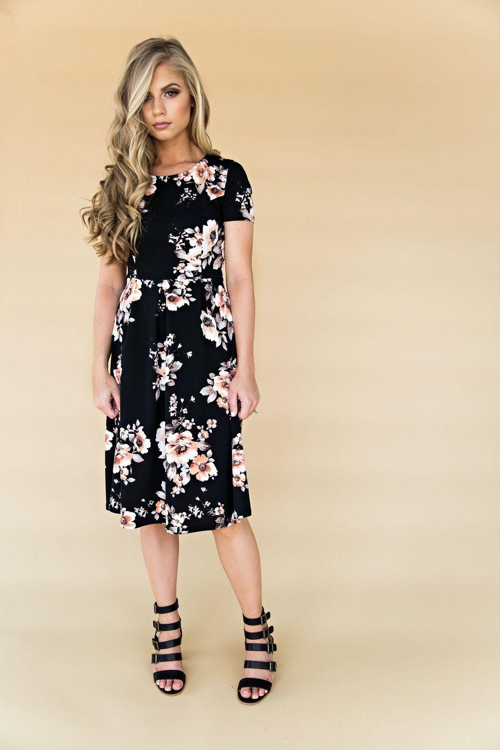 Black Luciana Dress 8eb2c1ad23