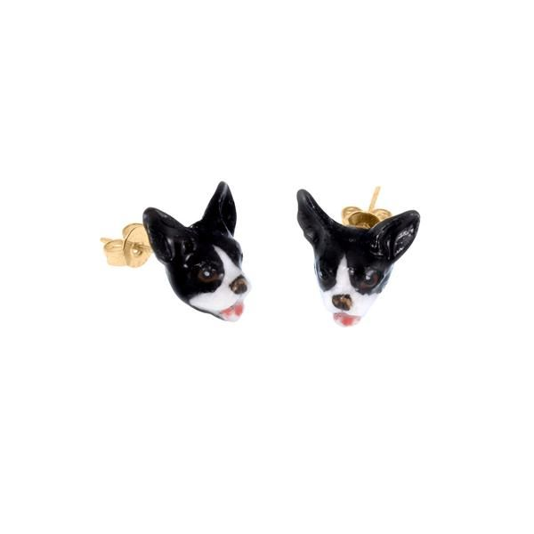 Nach Bijoux Bulldog Earrings – Clare V.