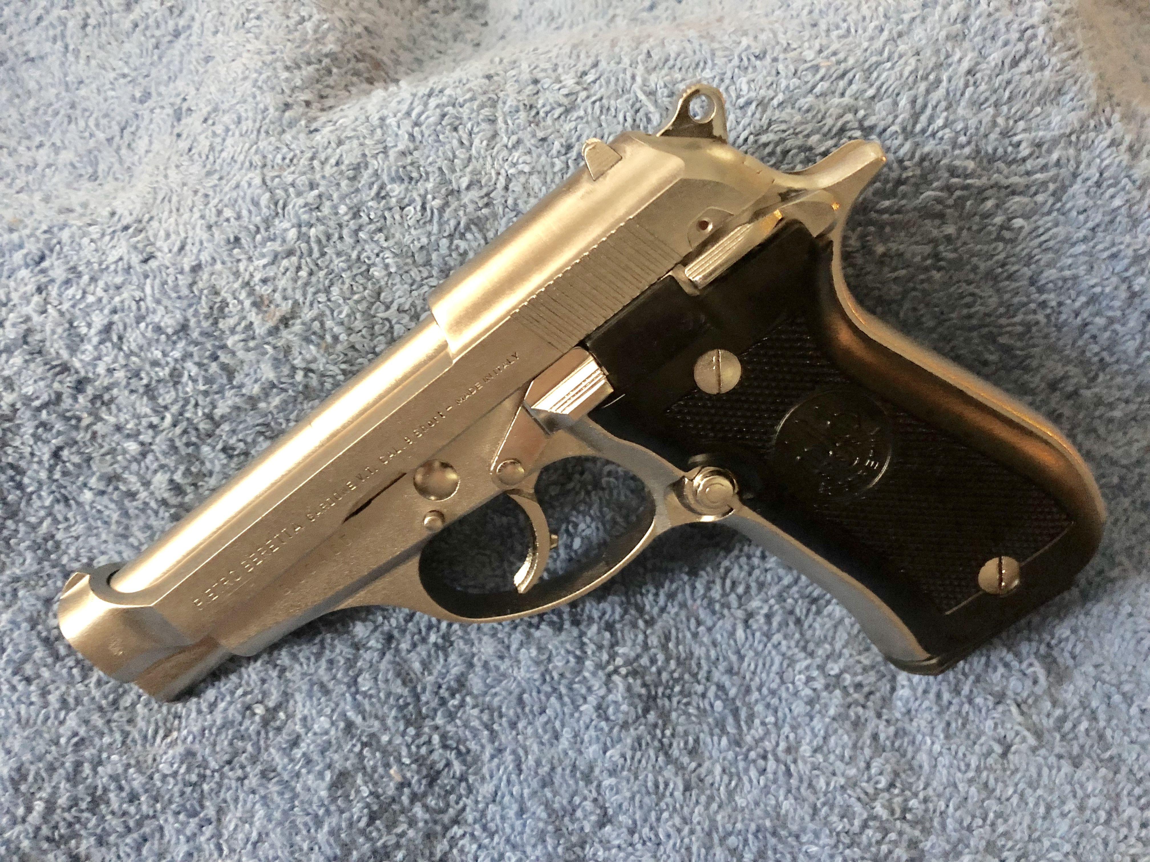 My Beretta 84 Cheetah After Nickel Plating | Guns | Guns