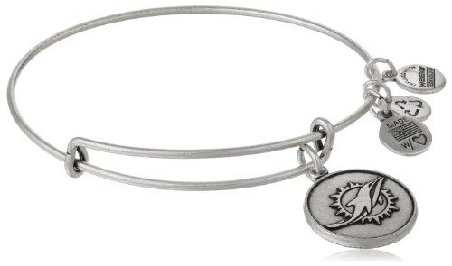 "I tthink I like this after all..... but in silver. Alex and Ani ""NFL"" Miami Dolphins Logo Expandable Wire Russian Silver Bangle Bracelet, 7.5"" Alex and Ani,http://www.amazon.com/dp/B00FLTFH6M/ref=cm_sw_r_pi_dp_IStOsb1M99SWPPS2"