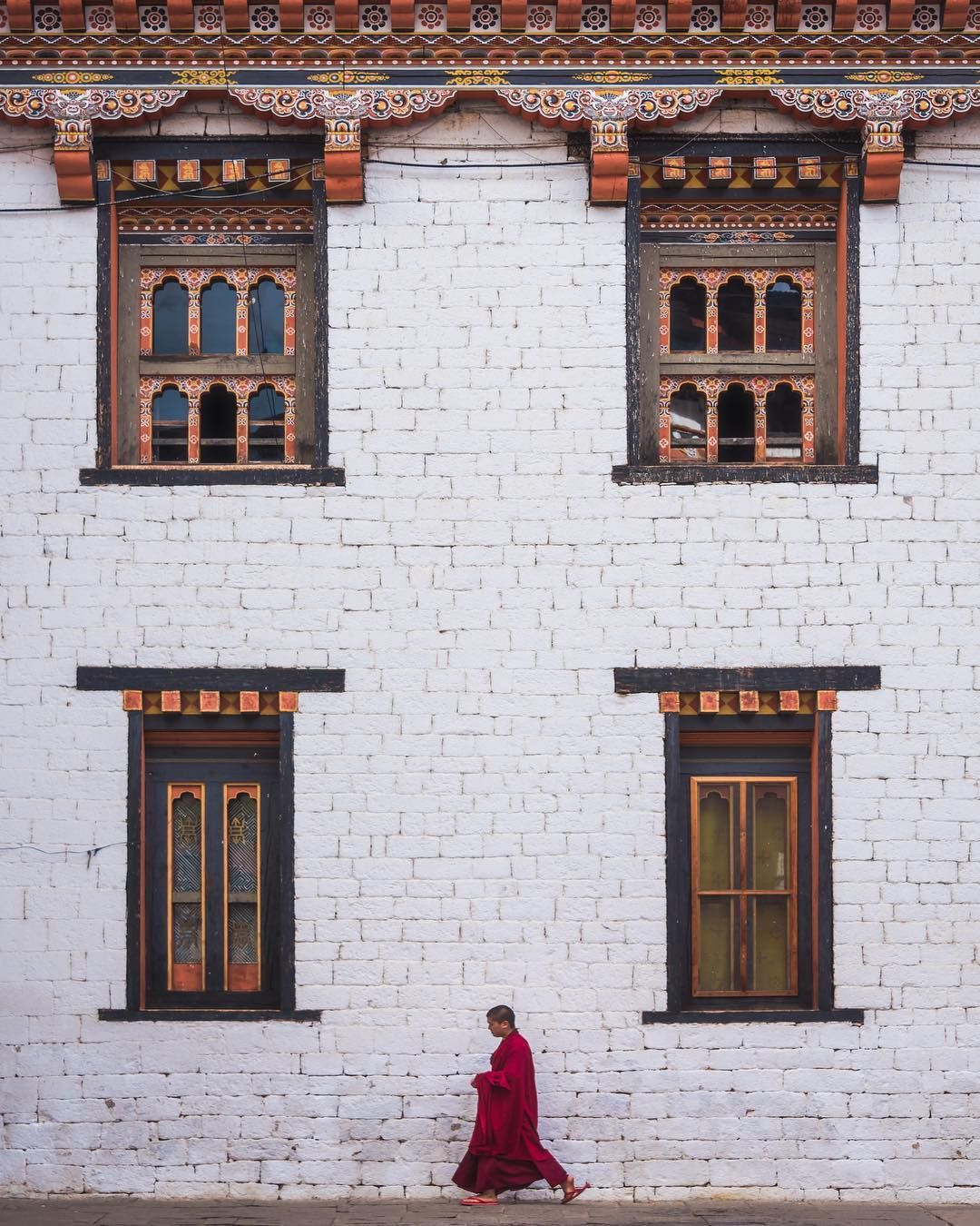 Conor Macneill On Instagram Stride By Thimphu Bhutan As Stride Bys Go This Is One Of My Favourite The Architecture Coupled W King S Viajes The Guardian