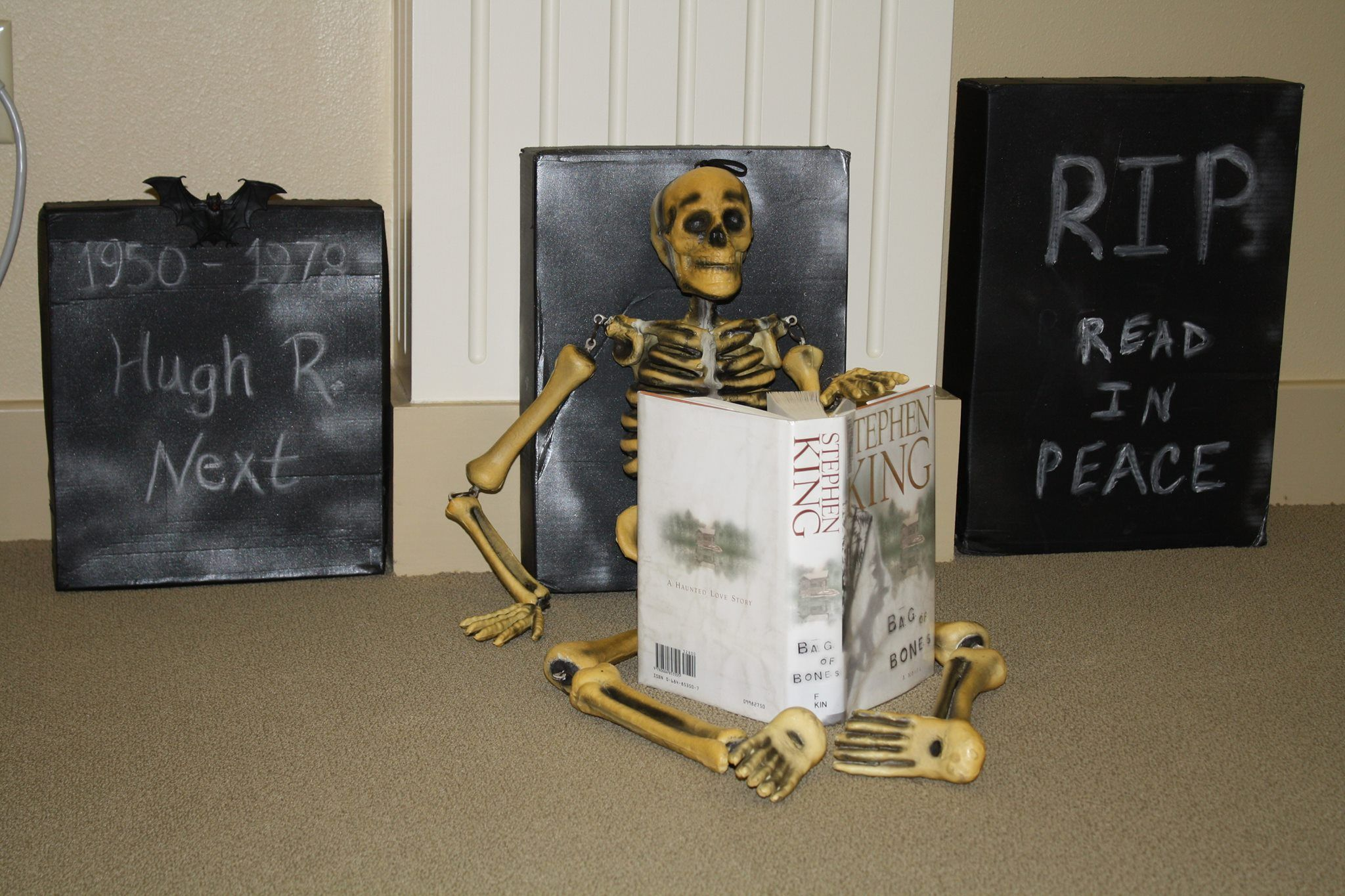 A Spooky Display Just In Time For Halloween