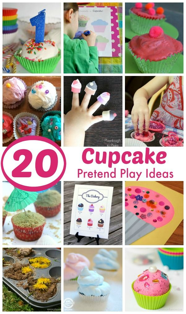 20 Cupcake Pretend Play Ideas Simple And Fun Activities Games