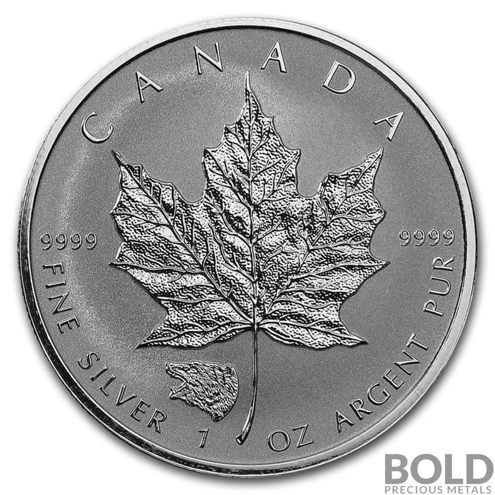 2016 Silver 1 Oz Canada Maple Leaf Grizzly Bear Privy Reverse Proof 10 Coins Coins Canada Maple Leaf Coin Prices