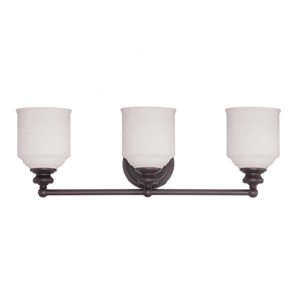 Photo of Filament Design Massa 3-Light Satin Nickel Bath Vanity Light CLI-SH0250583 – The Home Depot