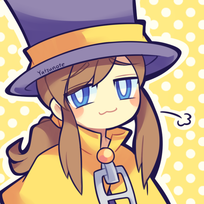 Someone On My Fb Page Asked For A Hat Kid Hat In Time Art A Hat In Time Art A Hat In Time Fanart