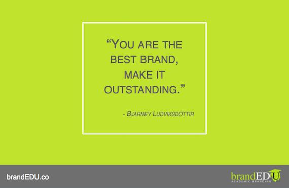Branding Quotes Glamorous Outstandingpersonalbrandingquotebrandedu  Inspirational