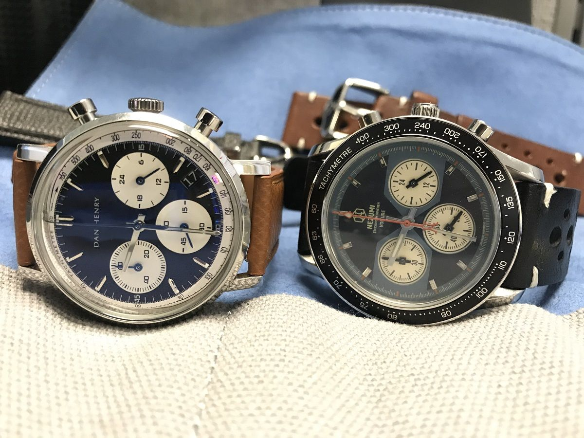 Dan Henry Watches 1964 Gran Turismo Chronograph Review in