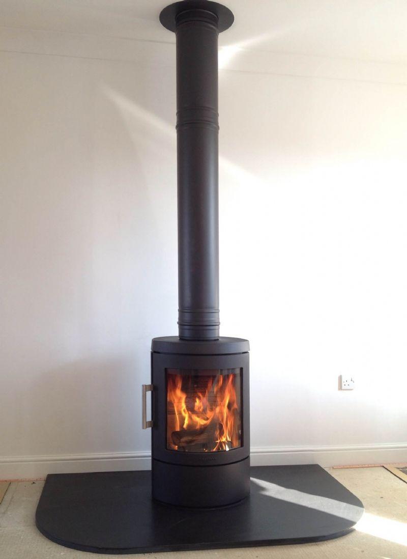 Hwam 3110 Installation #KernowFires #Hwam #fireplace #woodburner ...