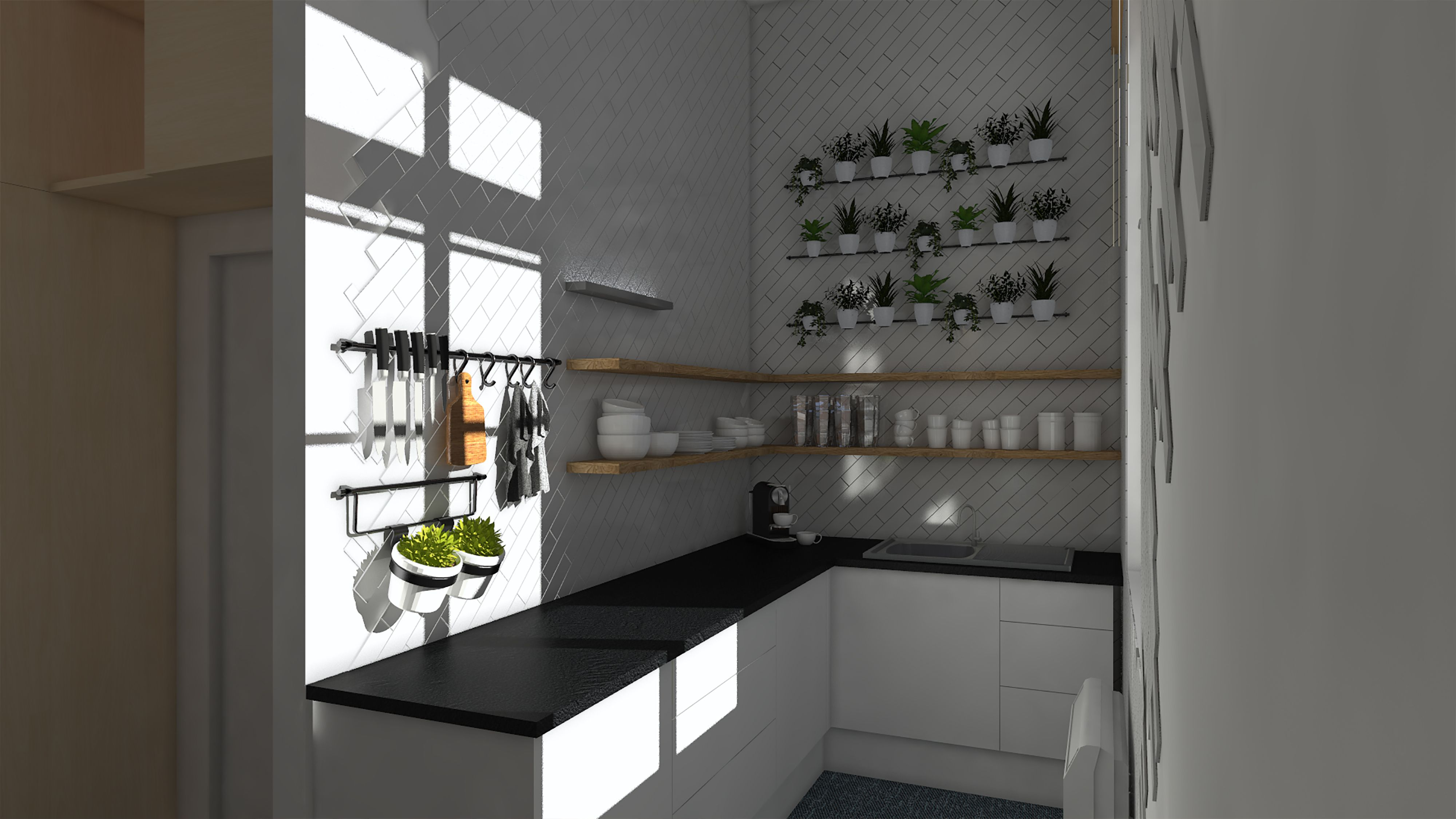 Atelier De La Cuisine Nantes la cuisine de l'espace de coworking de savenay, désigné par