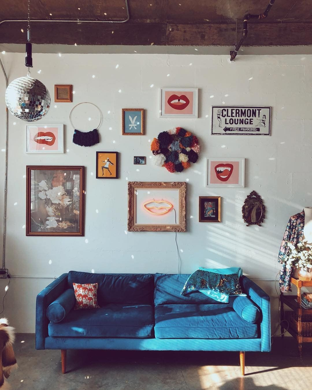 Pin by urban outfitters on wall space living room decor - Funky decorating ideas for living rooms ...
