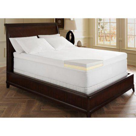 Dream Serenity 4 Inch Memory Foam Topper Multiple Sizes White