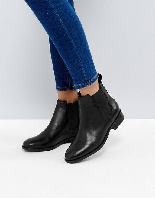 42392235375 Office Bramble Leather Chelsea Ankle Boots | Sleek. Boot. Black ...