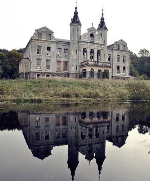 Abandoned chateau, location undiclosed